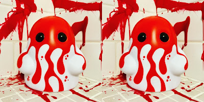 Tiny Ghost Bloodbath Edition Vinyl Figures by Reis O'Brien x Bimtoy x Bottleneck Gallery