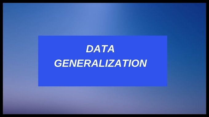 Data Generalization In Data Mining - Summarization Based Characterization
