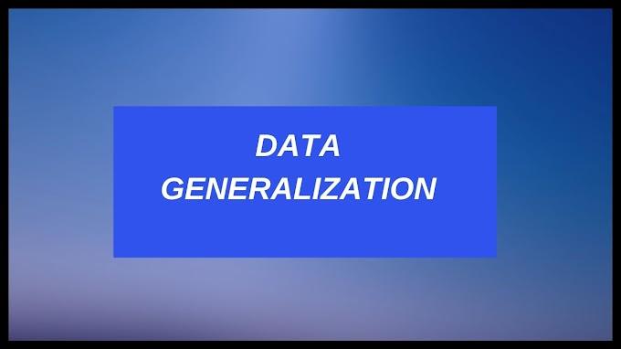Data Generalization In Data Mining - Summarization Based Characterization