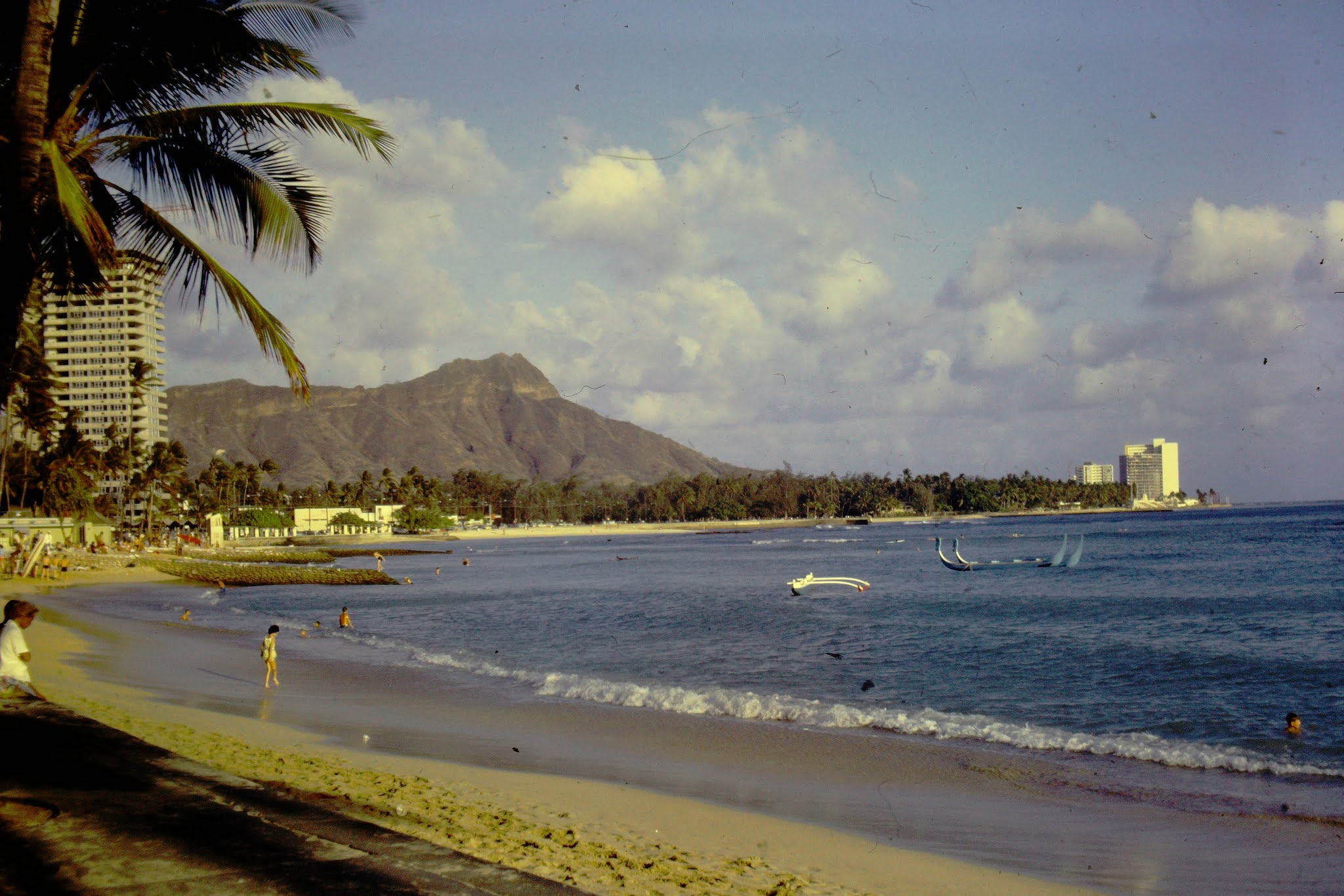 Diamond Head from Moana - 1961