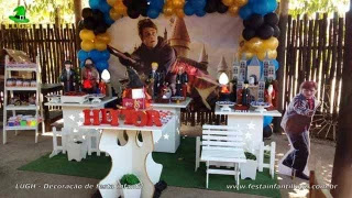 Decoração de aniversário Harry Potter - Festa infantil - Jacarepaguá - RJ