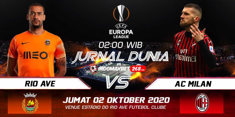 Prediksi Rio Ave Vs AC Milan 02 Oktober 2020 Pukul 02.00 WIB