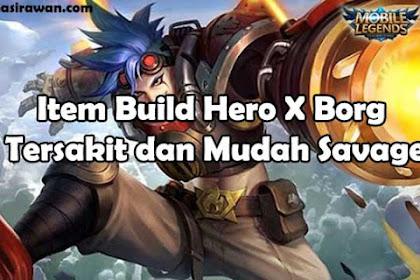 Item Build Hero X Borg Tersakit dan Mudah Savage Mobile Legends