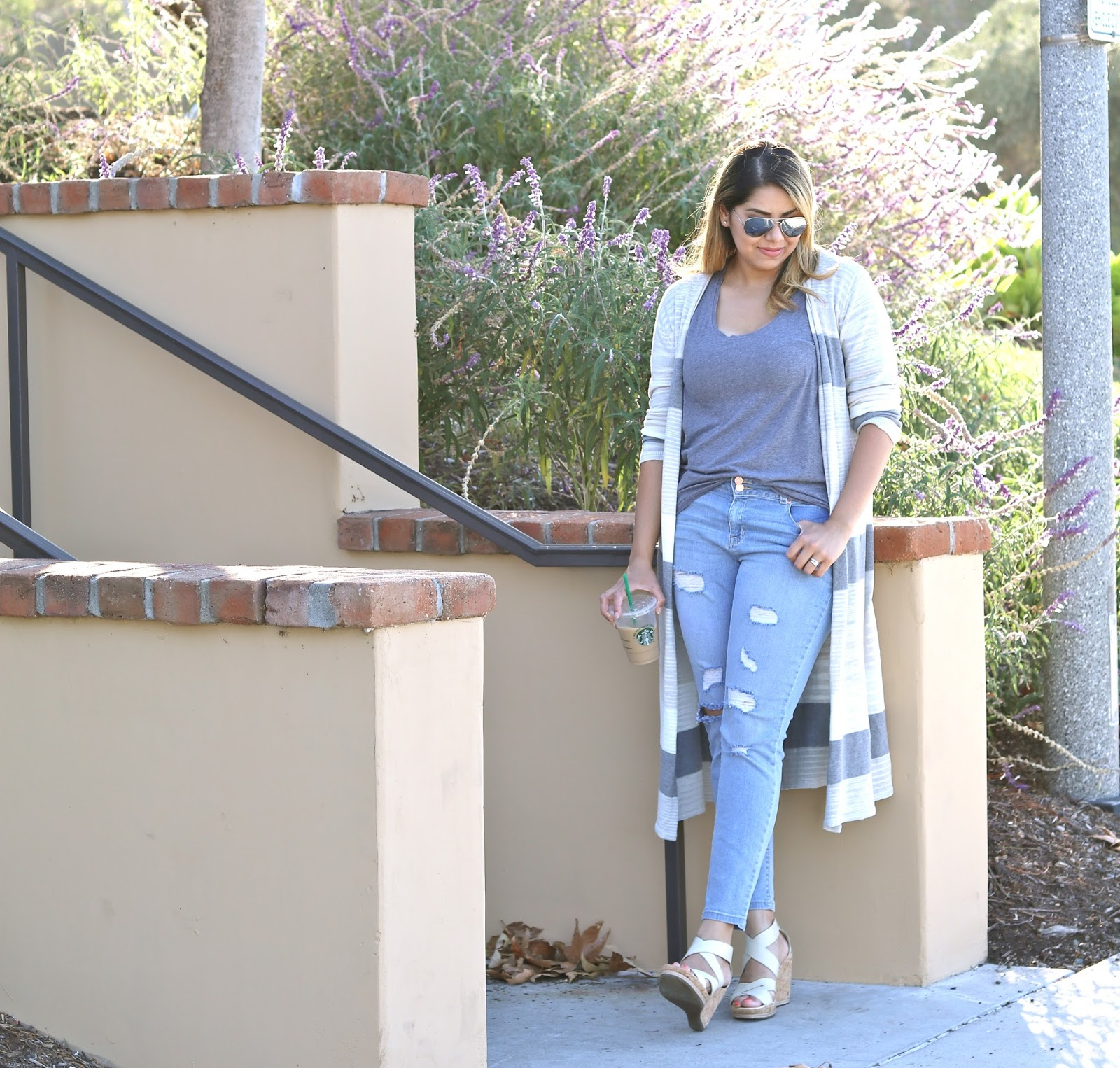 casual long cardigan outfit, cabi long sweater, san diego fashion blogger, san diego street style, socal blogger, latina blogger