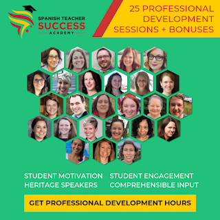 Spanish Teacher Success Academy - online professional development for Spanish teachers