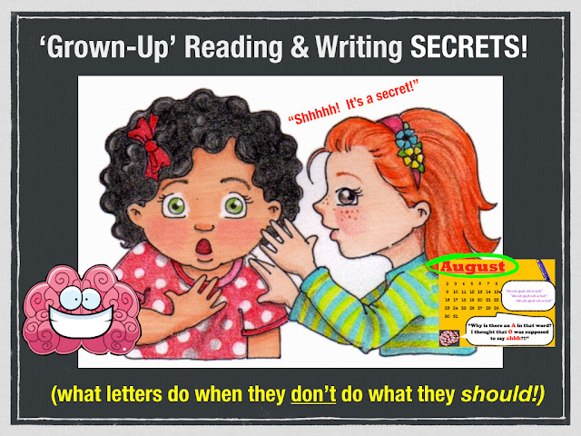 "Secret Stories® Phonics  — The ""Grown-Up"" Reading & Writing Secrets!"