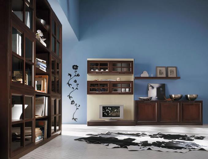 Camera Da Letto Blu Cobalto : Consigli d arredo il colore marrone nell arredamento