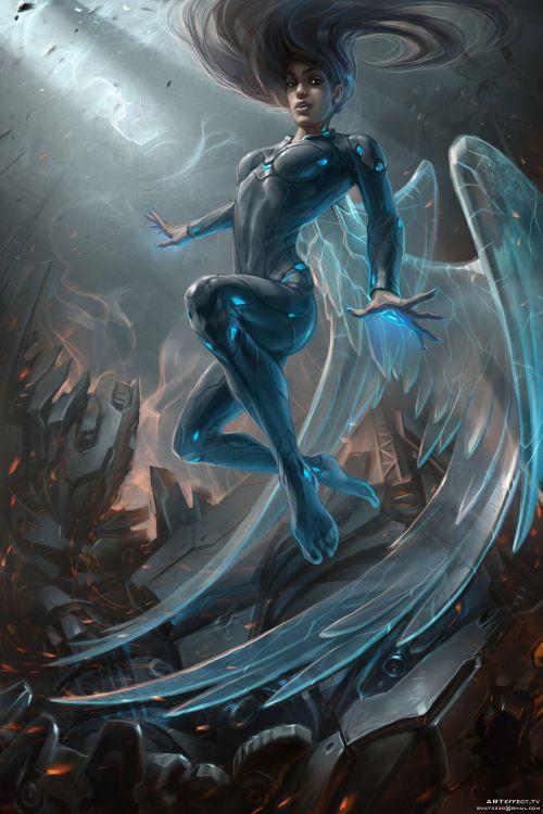 Sviatoslav Gerasimchuk artstation arte ilustrações ficção científica cyberpunk espacial