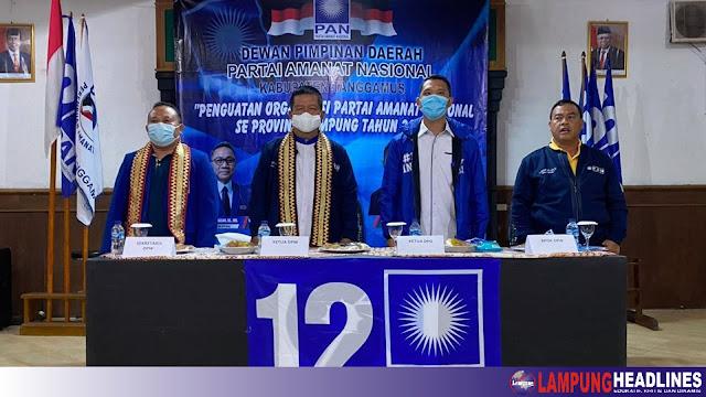 Penguatan Di Organisasi, DPD PAN Tanggamus Dan DPW PAN Lampung Sinergikan Program