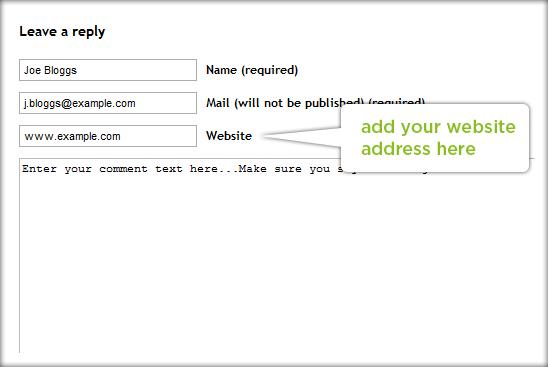 Cara Buat Backlink dengan cara berkomentar di Blog