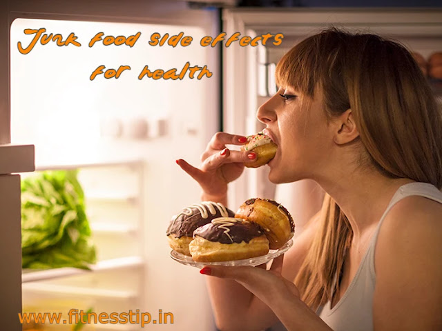 junk food side effects for health