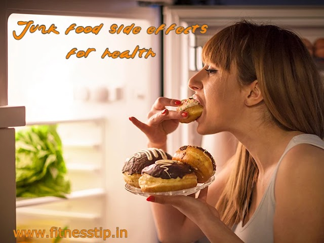 Disadvantages of junk food - junk food side effects for health