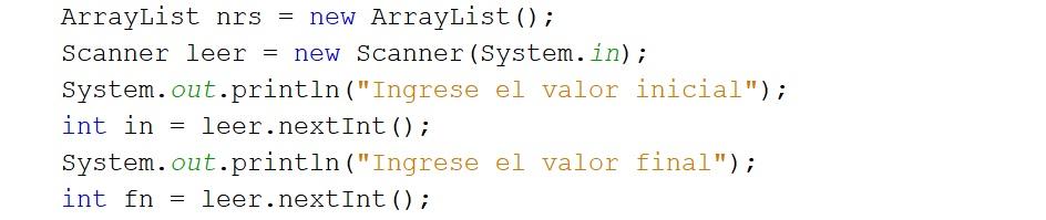 Mostrar el númerto faltante en Java