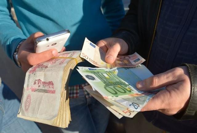 سعر اليورو بالدينار الجزائري في السوق السوداء اليوم الاحد 14-7-2019