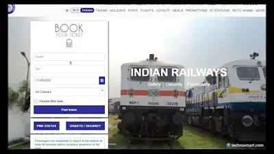 irctc train ticket booking online