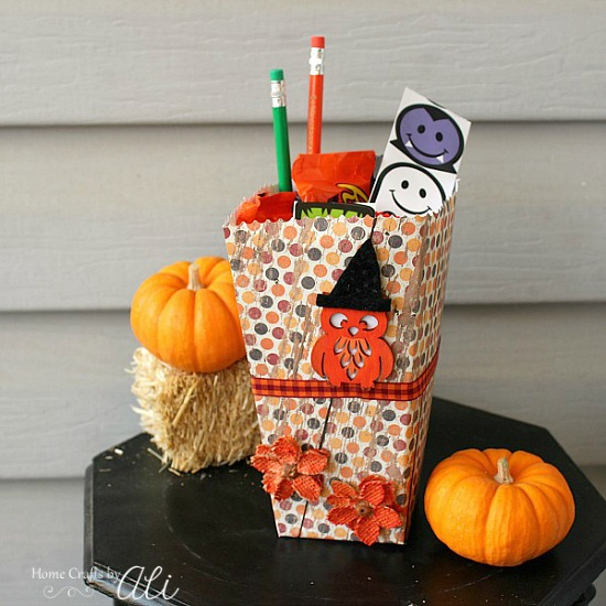 easy to make treat box tutorial