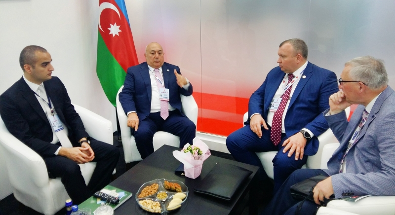 IDEF 2019: Україна з Азербайджаном розглядають взаємний трансфер технологій