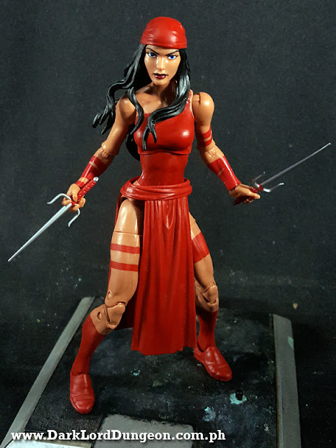Marvel Legends Elektra Action Figure SPdr wave