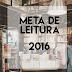 Meta de Leitura: Janeiro