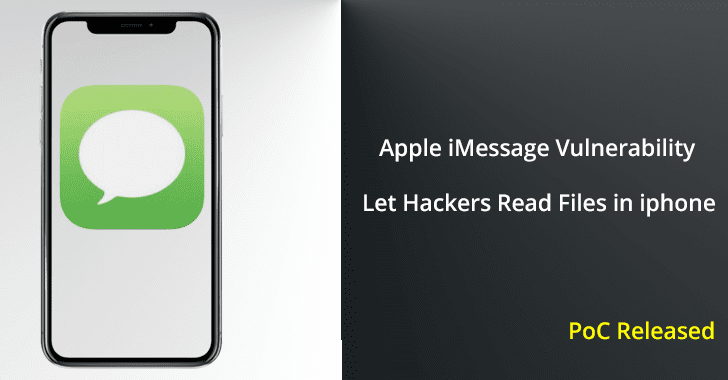 Vulnerability in Apple iMessage Let Hackers Remotely Read Files in