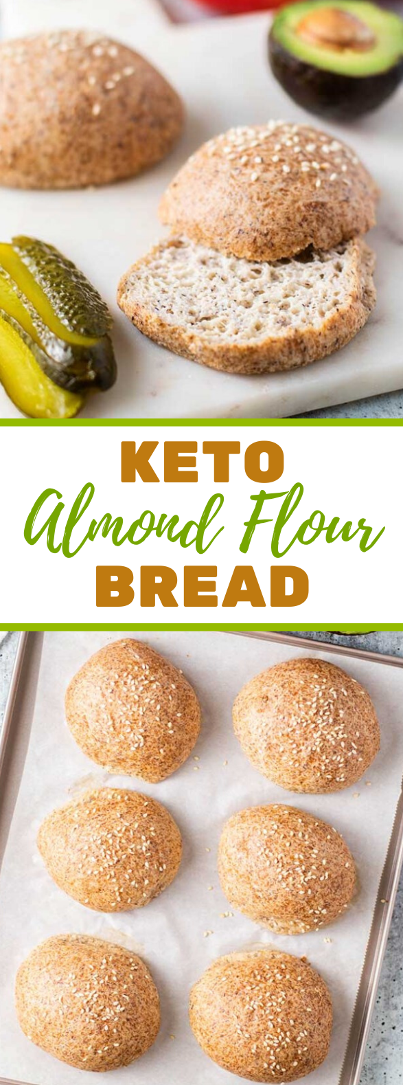 Keto Bread Rolls #sandwiches #healthy