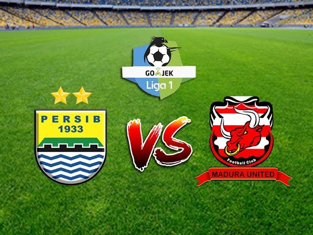 Persib Bandung vs Madura United Digelar 9 Oktober 2018