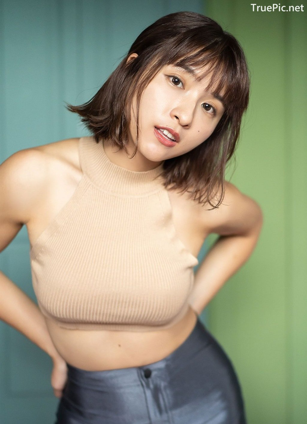 Image Japanese Model - QunQun - [Young Jump] 2020 No.01 - TruePic.net - Picture-5