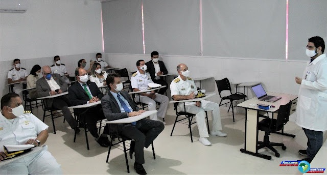 Inaugurada Sala de Aula Padrão da Escola de Formação de Oficiais da Marinha Mercante com o apoio da MRN