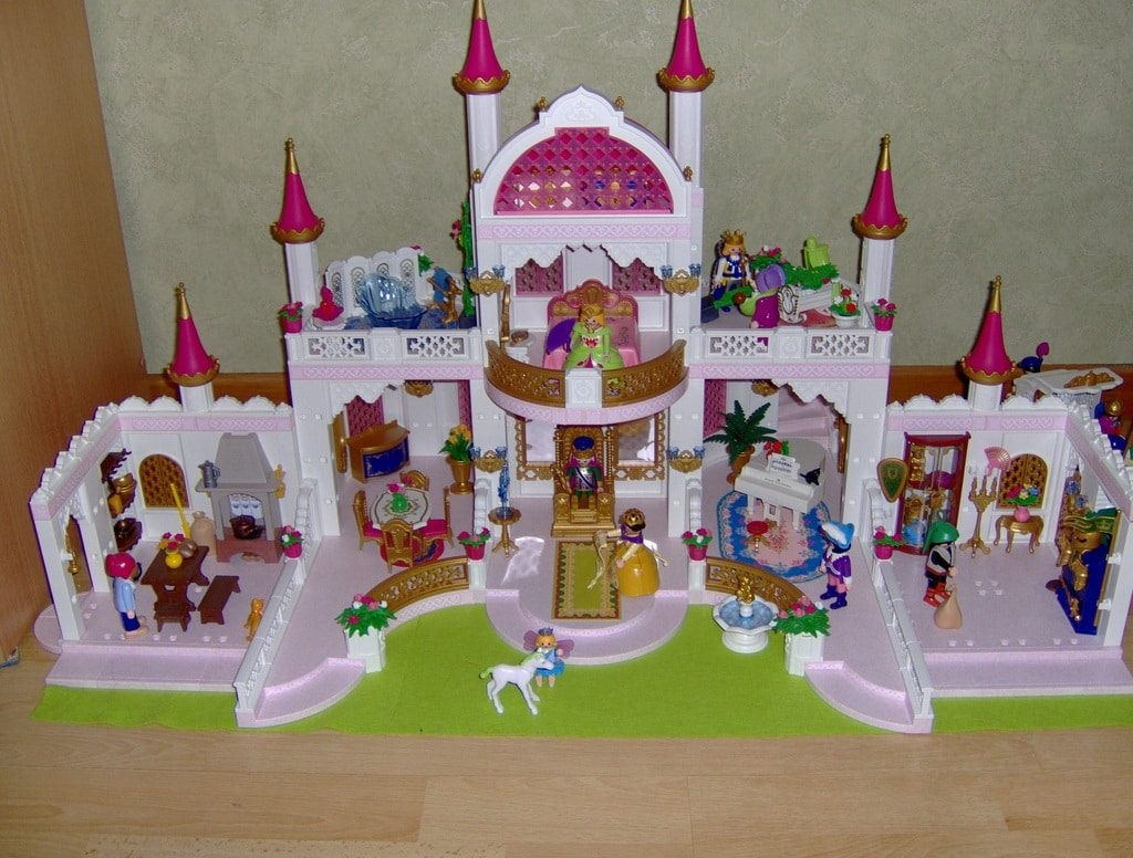 Chateaux Playmobil Princesse   Chateau De Princesse Playmobil 4250 ...