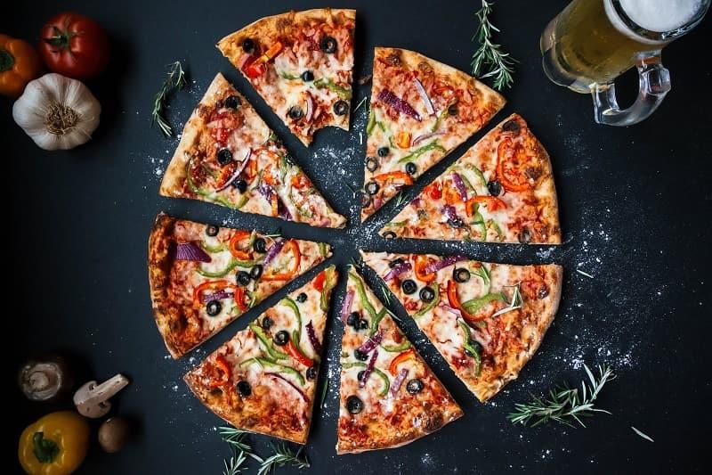 طريقة عمل البيتزا الدايت بالردة