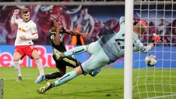 Bundesliga: Leipzig Smash 8 as Werner Scores a Hattrick