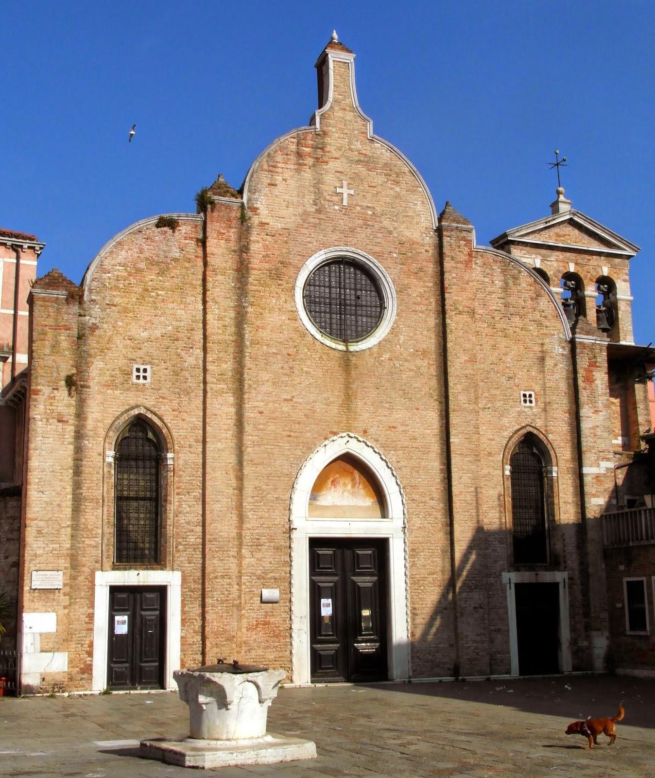 San Giovanni in Bragora, Venice, the church in which Vivaldi was baptised.