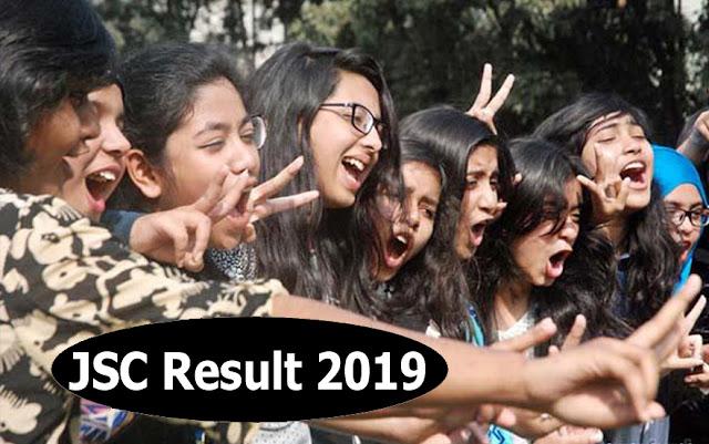 JSC Result 2019 Dhaka Education Board