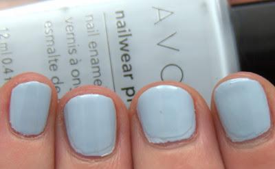 I Ve Got The Avon Nailwear Pro Nail Enamel Blues Cosmic Blue Lagoon And Vintage Blue