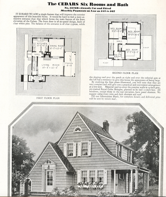 sears cedars 1932 catalog