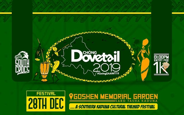 "Kaduna Braces Up For ""Chong Dovetail"" Happening Today @ Goshen Garden"