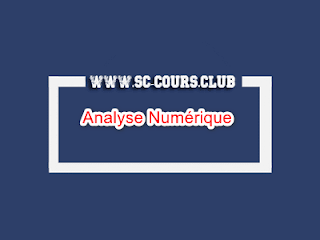 Analyse Numérique cours smi s4 pdf