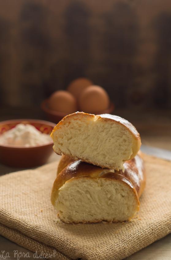 Pan croata de Pascua sin lactosa - la Rosa dulce