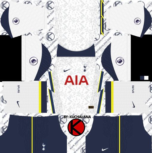 Tottenham Hotspur 2020 21 Kit Dls2019 Kits Kuchalana