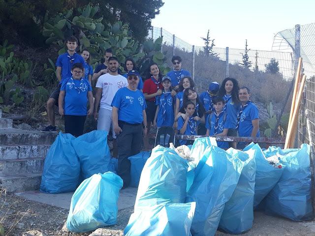 Εθελοντική δράση καθαρισμού από το 1ο Σύστημα Προσκόπων Άργους