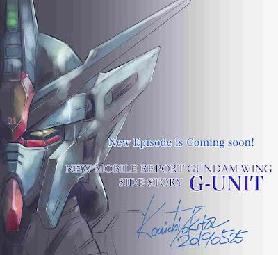 Manga Baru Gundam Wing G-UNIT Dirilis Pada Bulan Juni