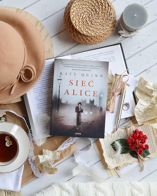 """#183 """"Sieć Alice"""" - Kate Quinn"""
