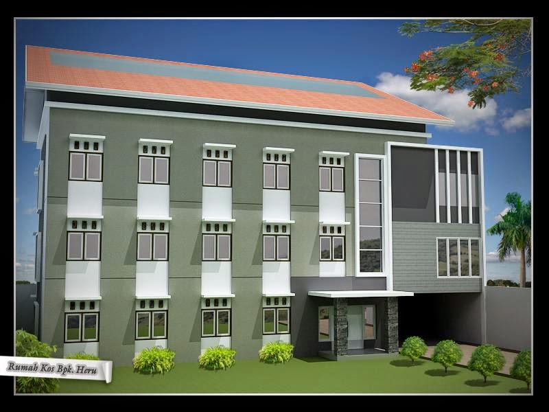 Desain Arsitektur Rumah Kos Minimalis Terbaru 2020