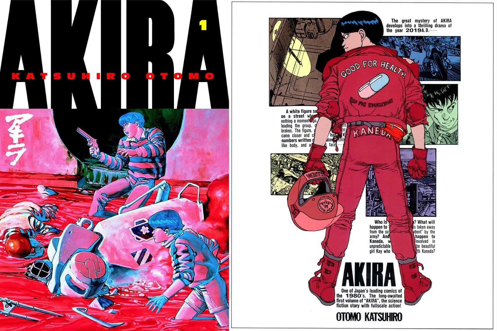 Akira Storia Manga Katsuhiro Otomo