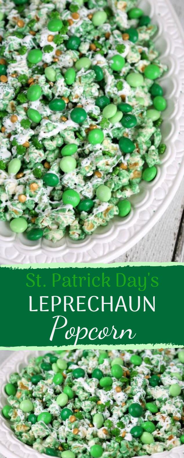 Leprechaun Popcorn #dessert #stpatrickday