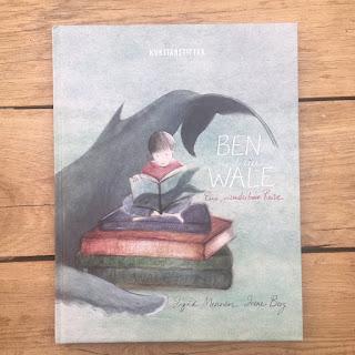 Bilderbuch Ben und die Wale, Tod, Erwachsene, Kinder, Tutorial Minialbum Minibuch