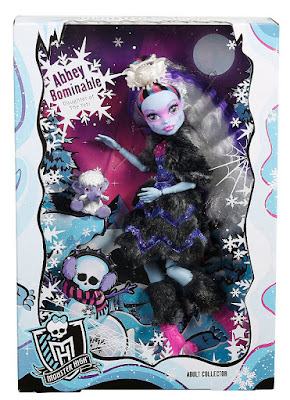MONSTER HIGH - Muñeca Abbey Bominable | Adult Collector Edition | Edición Coleccionista 2017 | Mattel FGD27 | JUGUETE caja