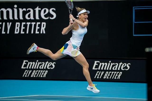 Simona Halep s-a calificat în optimile de finală de la Australian Open