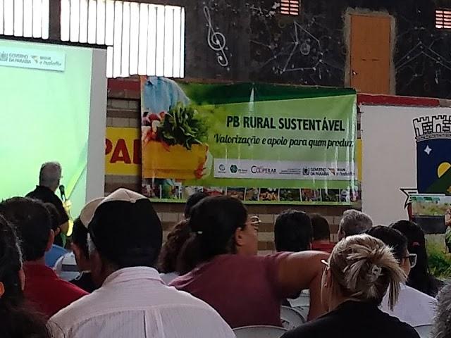 Secretário de Agricultura de Amparo participou do Paraíba Rural Sustentável realizado em Sumé