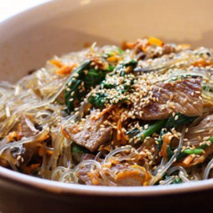 Korean Steak Noodles